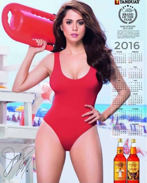 Philippines Models Gallery: Jessy Mendiola Sizzles In A Red Hot Bikini