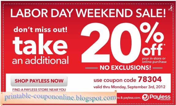 image regarding Payless Shoes Printable Coupon named Payless ShoeSource Coupon codes Promo Codes
