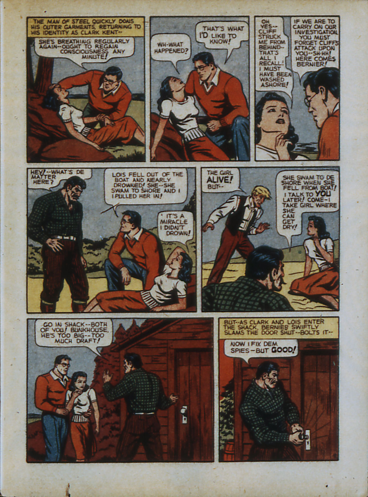 Read online Action Comics (1938) comic -  Issue #33 - 12