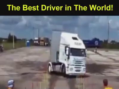 The best driver in the world