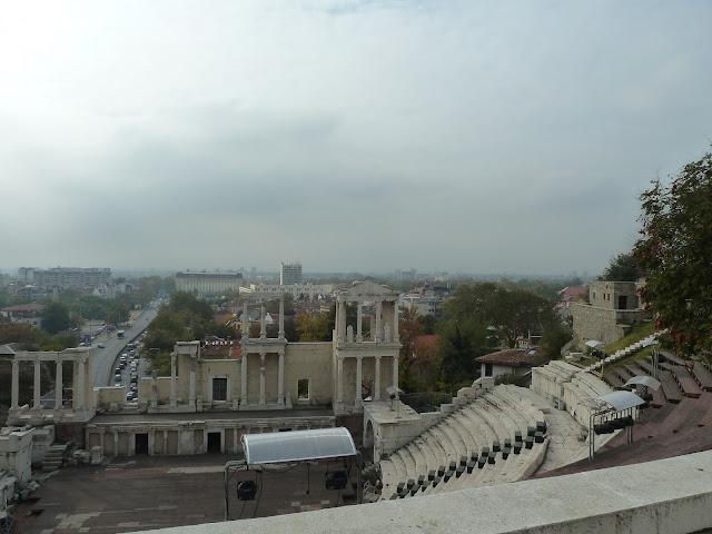Teatro romano en Plovdiv