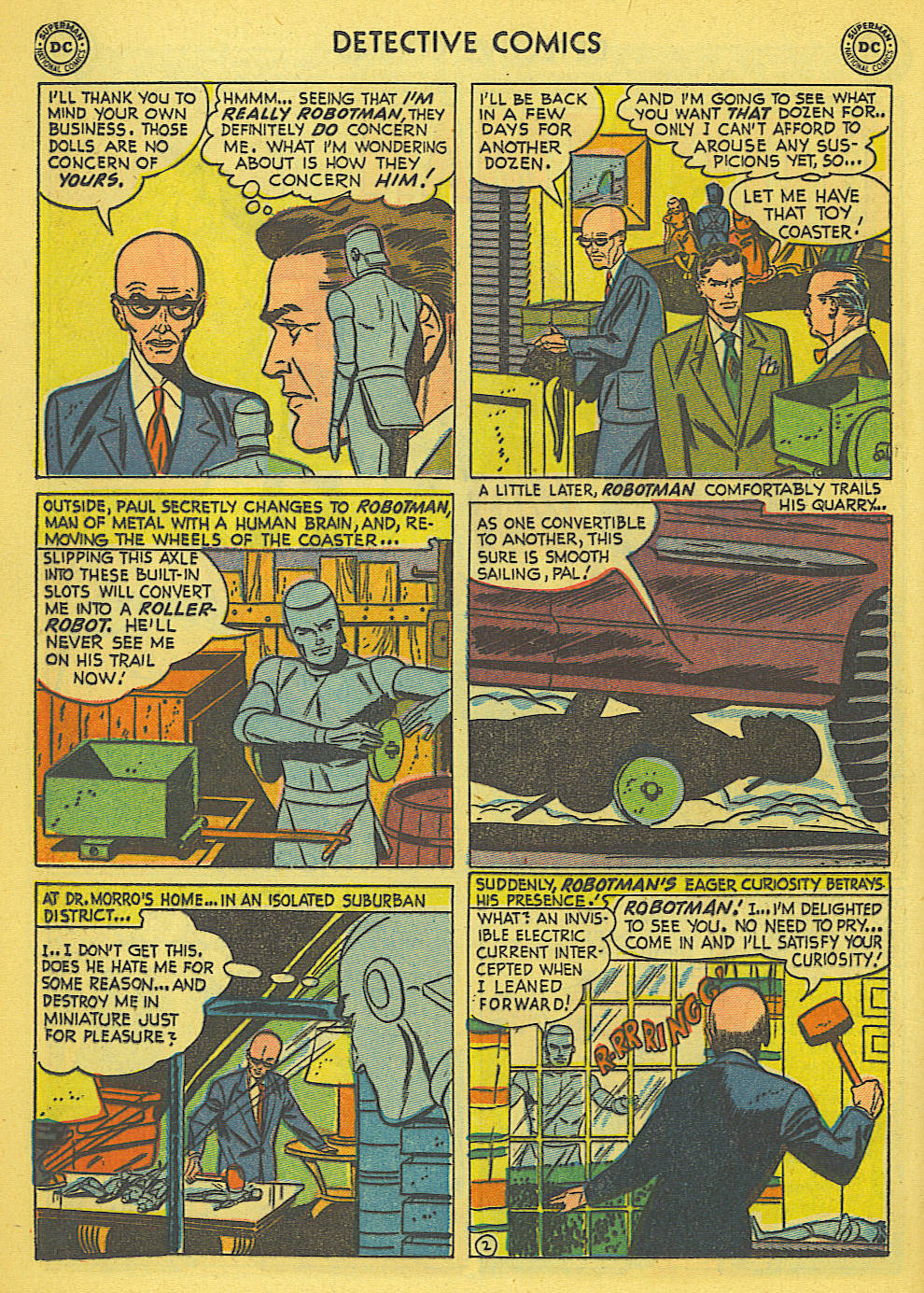 Read online Detective Comics (1937) comic -  Issue #173 - 19