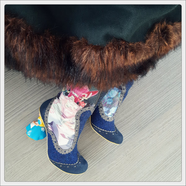 wearing irregular choice lost your muchness boots collectif pearl coat