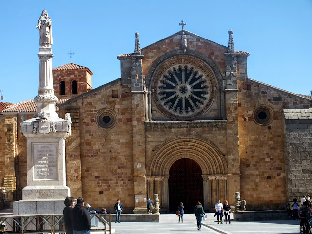 La Iglesia de San Pedro en Ávila