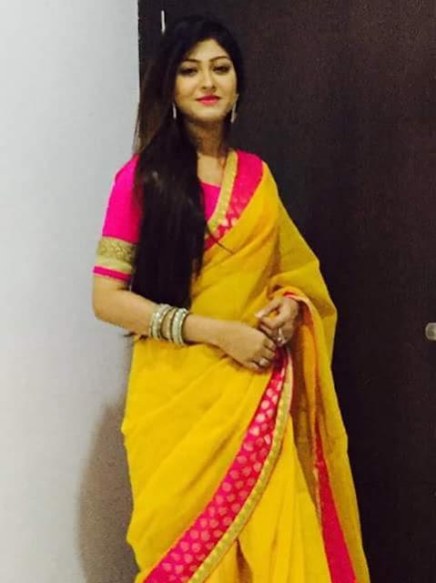 Rooqma Ray Bengali Actress In Saree