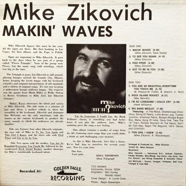 Mike Zikovich Makin Waves