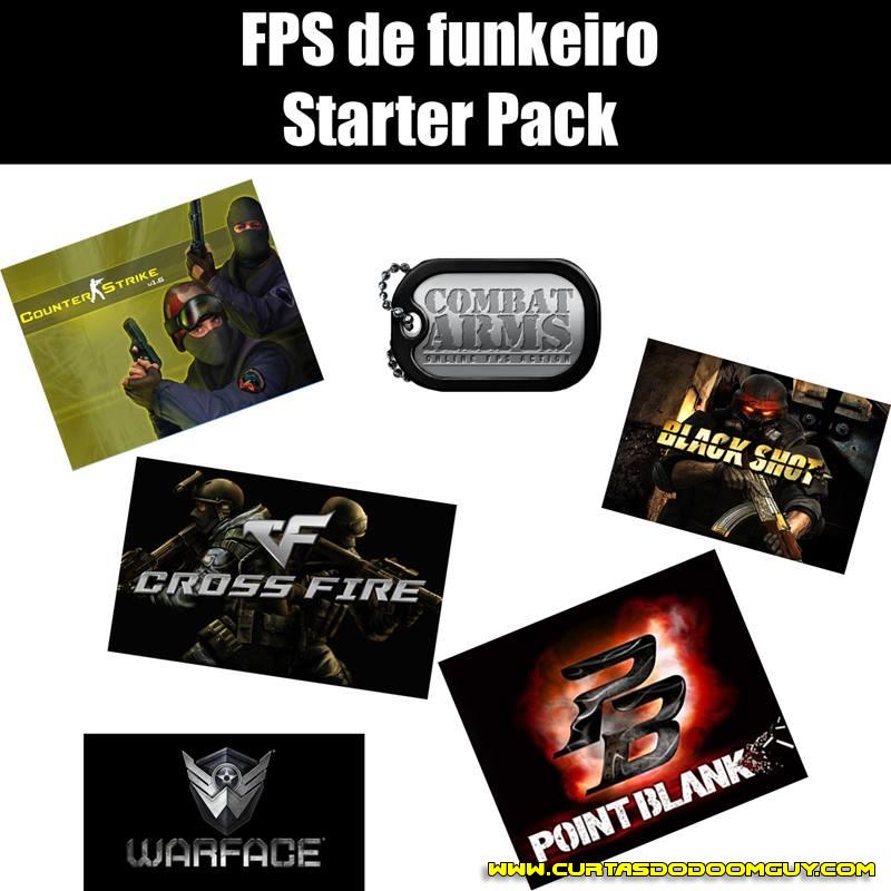 FPS de funkeiro starter pack