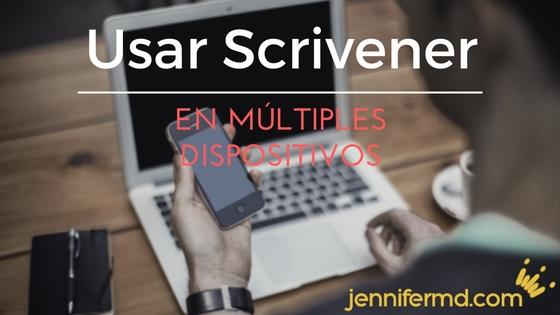 ¿Se puede usar Scrivener en Android? Sí, pero...