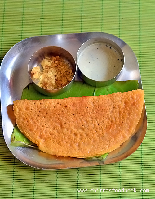 Kara dosai recipe