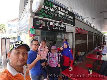 Wajib Try! NAZZEERAS' Roti Bakar Kacang Phool Penang