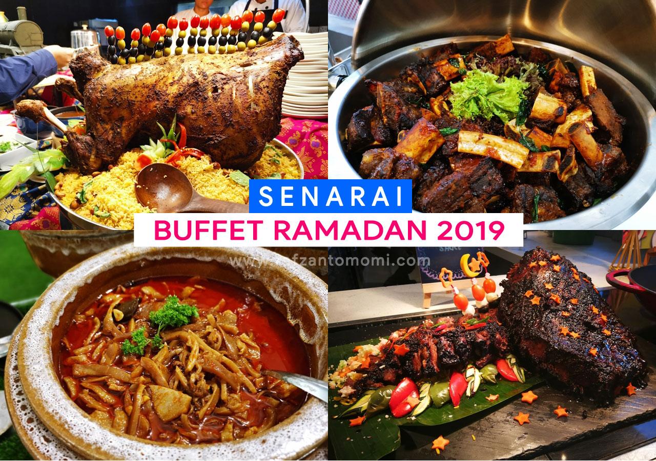 Senarai Buffet Ramadan 2019