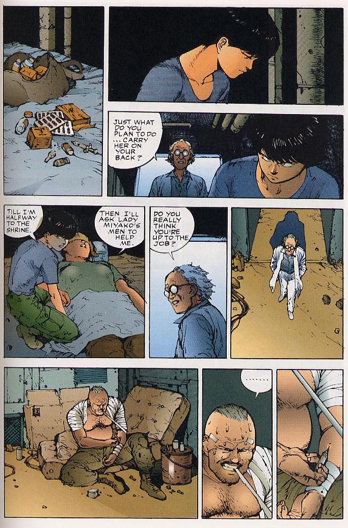Read online Akira comic -  Issue #25 - 52