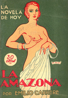 literatura erotica sado  emilio carrere amazona
