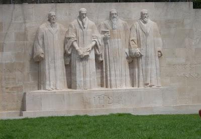 muro de los reformadores ginebra