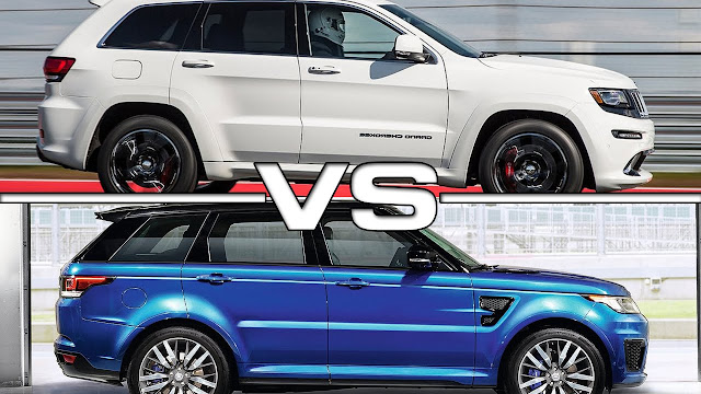 jeep grand commander 2018 VS Land Rover Discovery