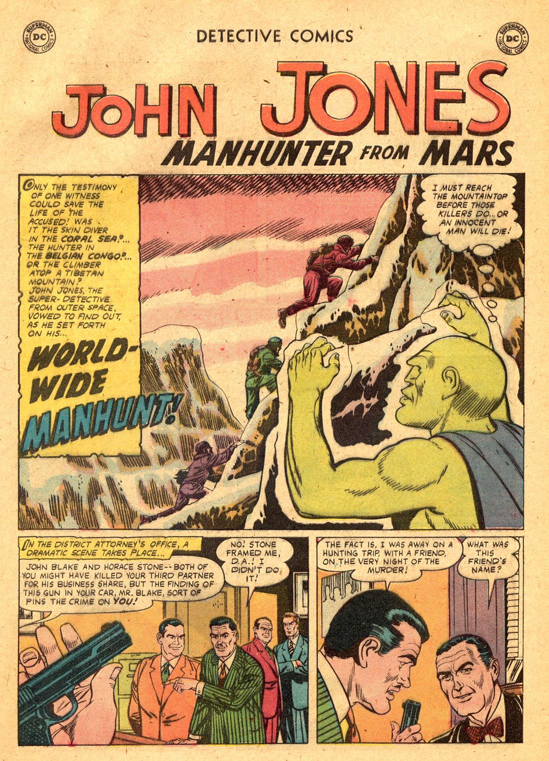 Read online Detective Comics (1937) comic -  Issue #255 - 27