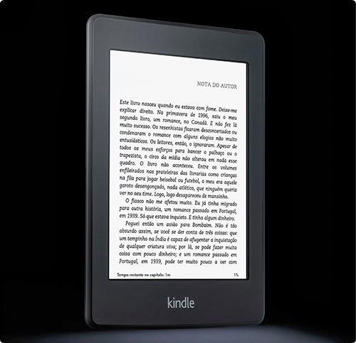 Kindle Parperwhite da Amazon