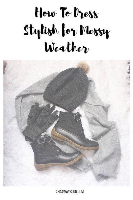 How To Dress Stylish for Messy Weather