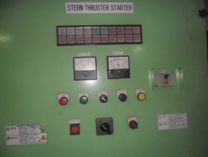 Failed Alarm System Stern Thruster Kamome ASL Scorpio 1