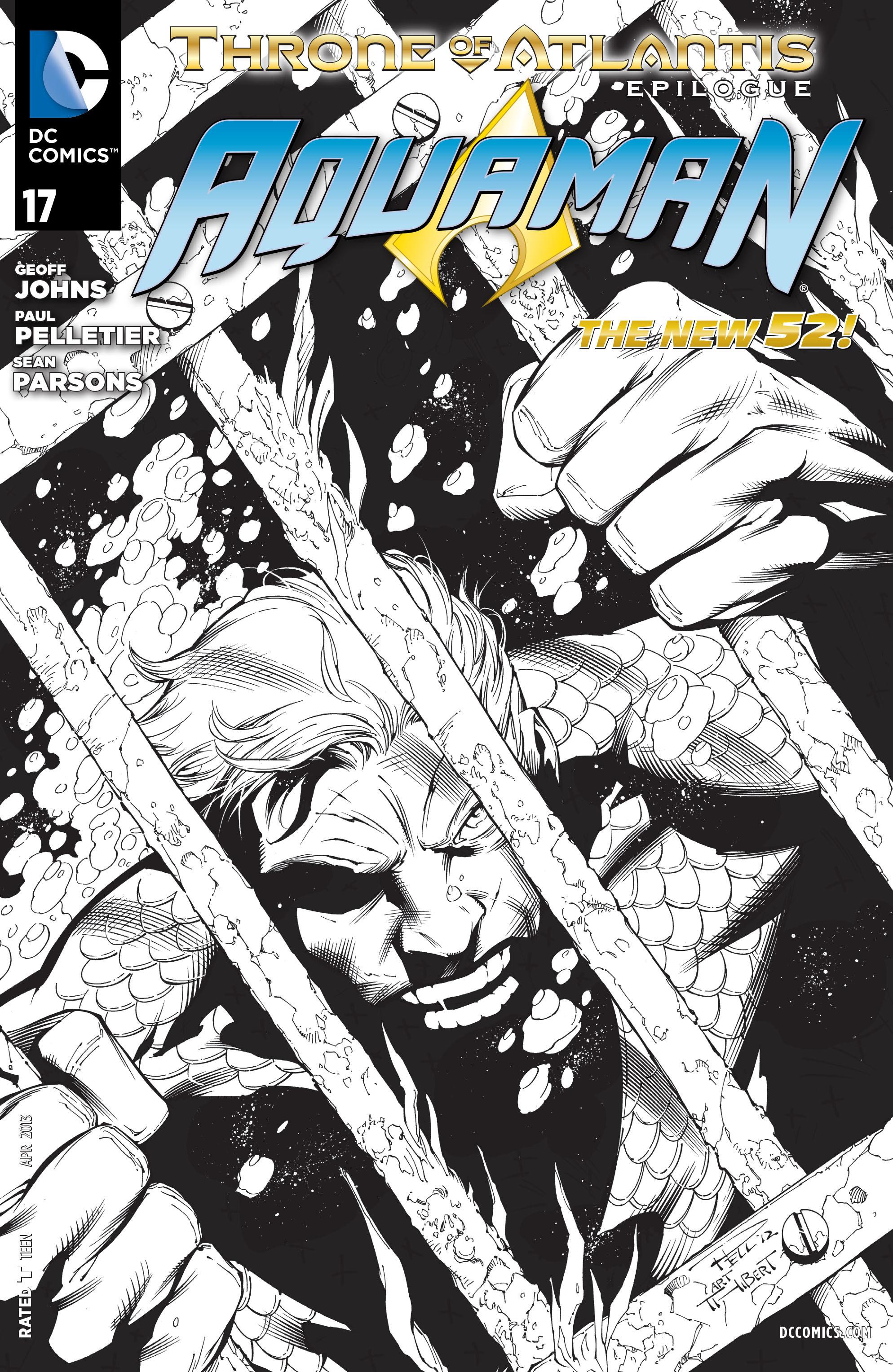 Read online Aquaman (2011) comic -  Issue #17 - 20