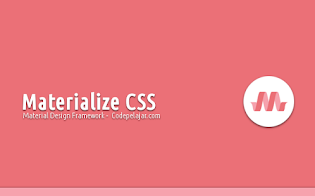 Materialize CSS, Framework Material Design untuk Website