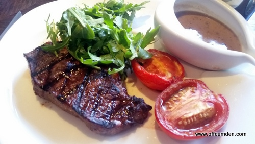 Yorkshire sirloin steak