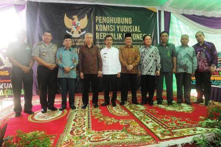 Ishak Mekki Resmikan Kantor KY Penghubung Wilayah Sumsel
