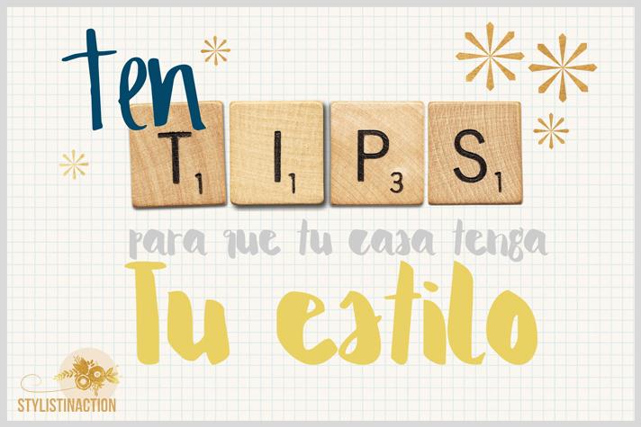 10 tips para una casa con personalidad