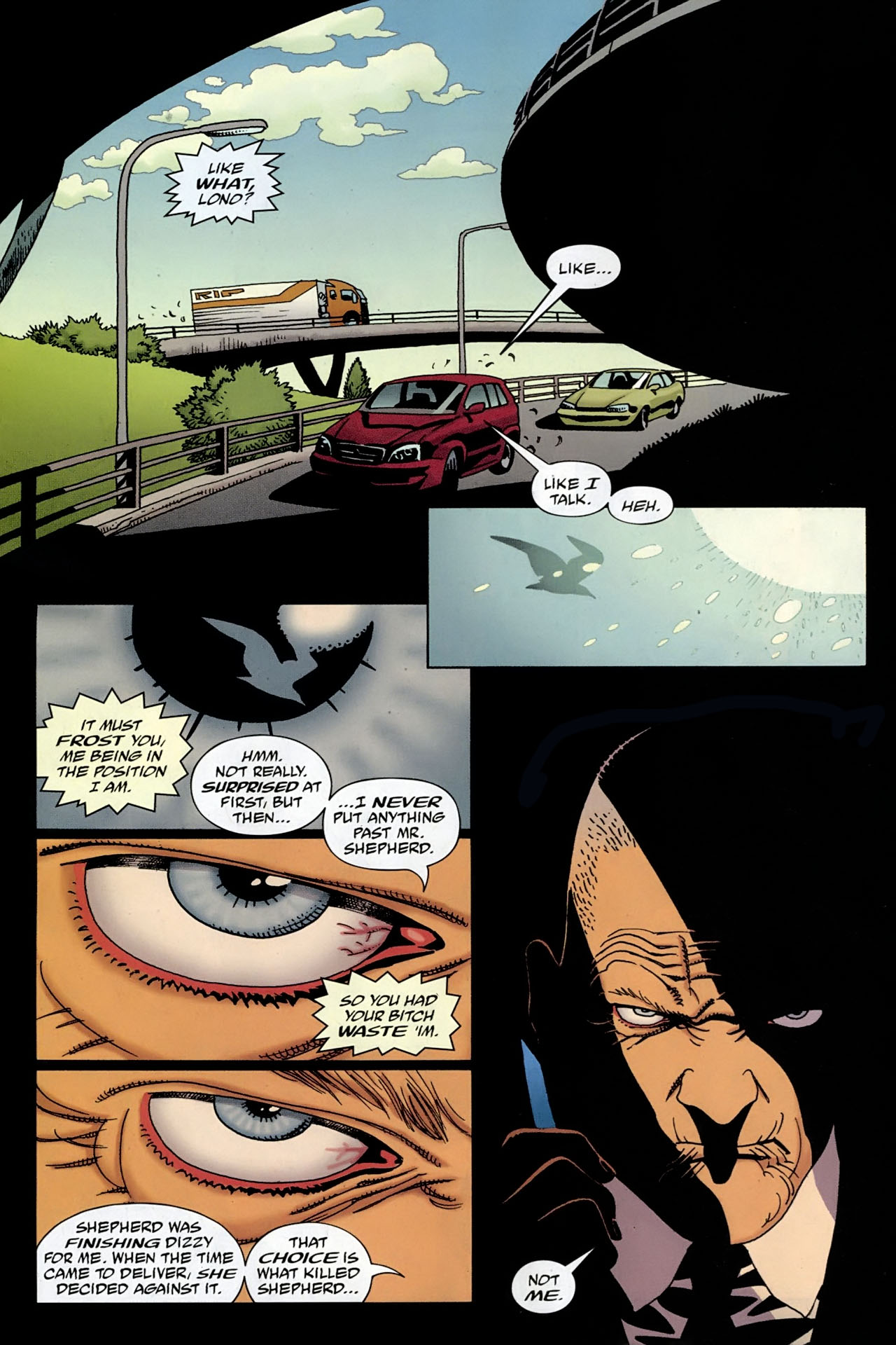 Read online 100 Bullets comic -  Issue #96 - 13