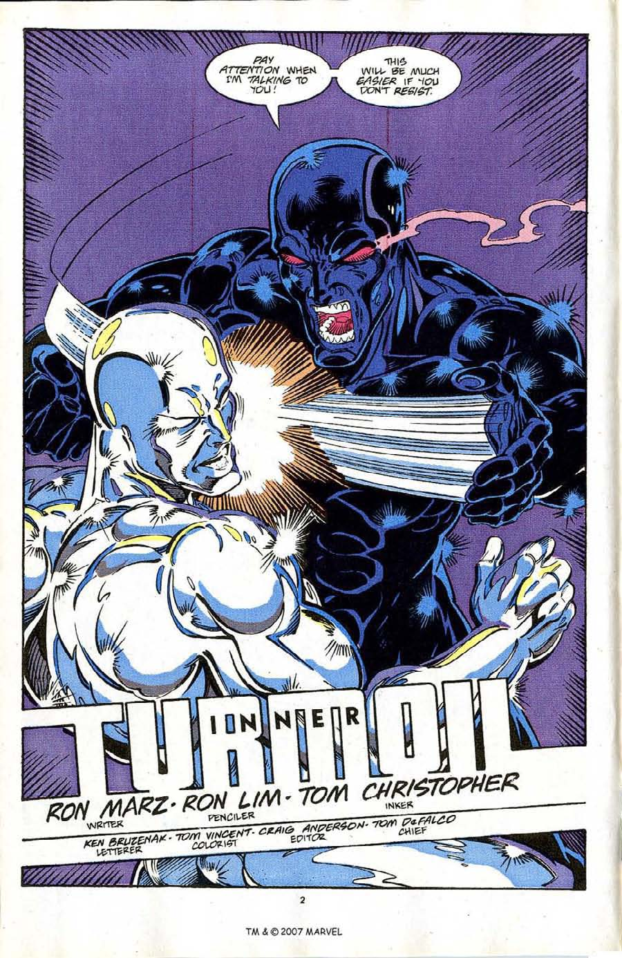 Read online Silver Surfer (1987) comic -  Issue #64 - 4