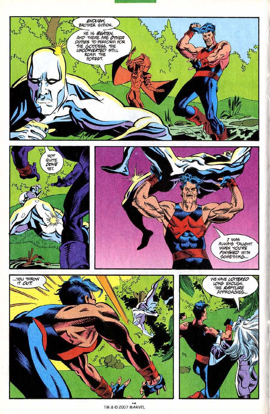 Read online Silver Surfer (1987) comic -  Issue #85 - 18