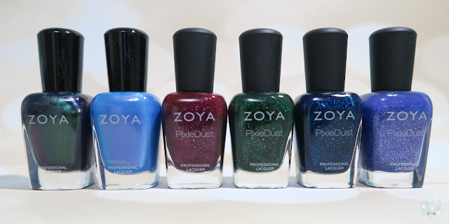 Zoya Enchanted Holiday 2016 | Kat Stays Polished