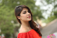 Rhea Chakraborty in Red Crop Top and Denim Shorts Spicy Pics ~  Exclusive 116.JPG