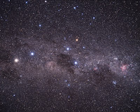 Milky Way & Alpha Centauri