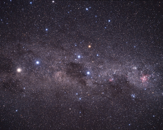 Milky Way & Alpha Centauri