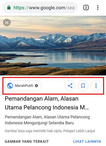 Cara Menyimpan Gambar dari Google ke Galeri