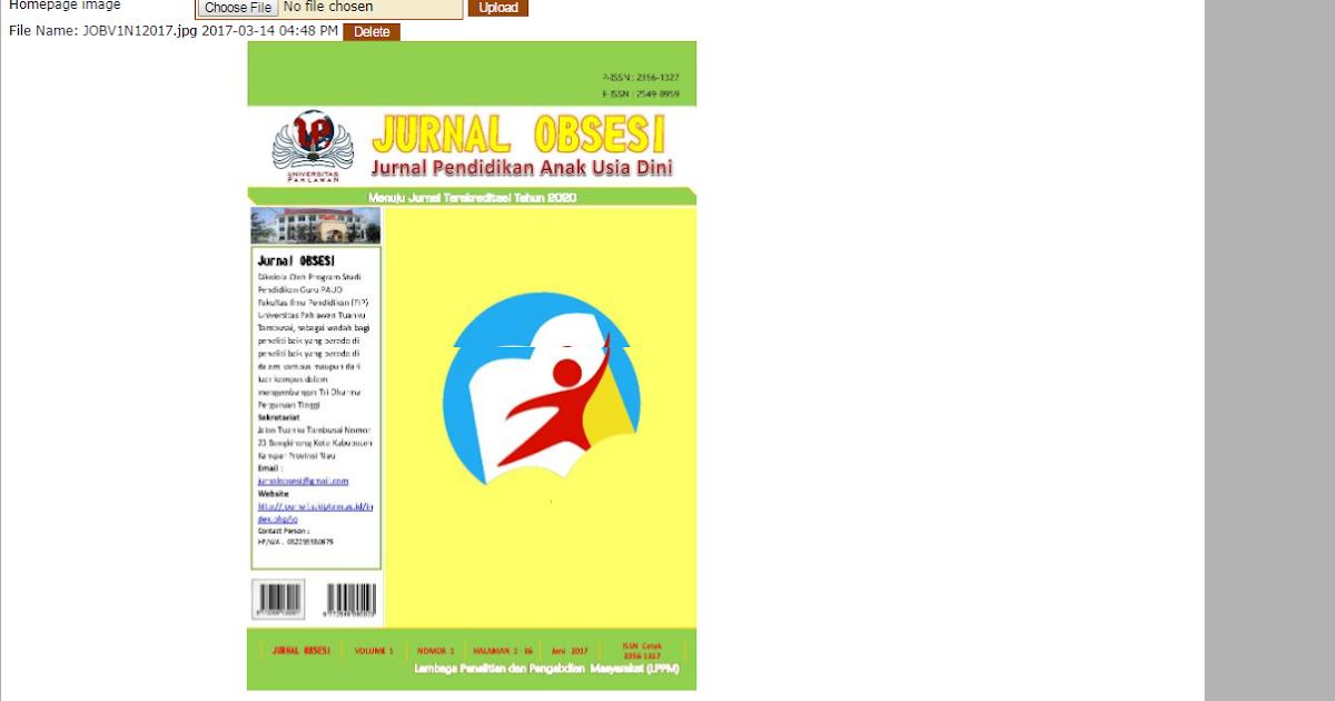 Cara Menampilkan Current Issue Di Homepage Pada Ojs Blog Mas Uyes