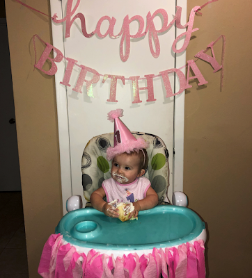 Lexi Mae Webster turns one