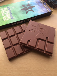 Montezuma's Milk Chocolate with Coffee & Cocoa Nibs