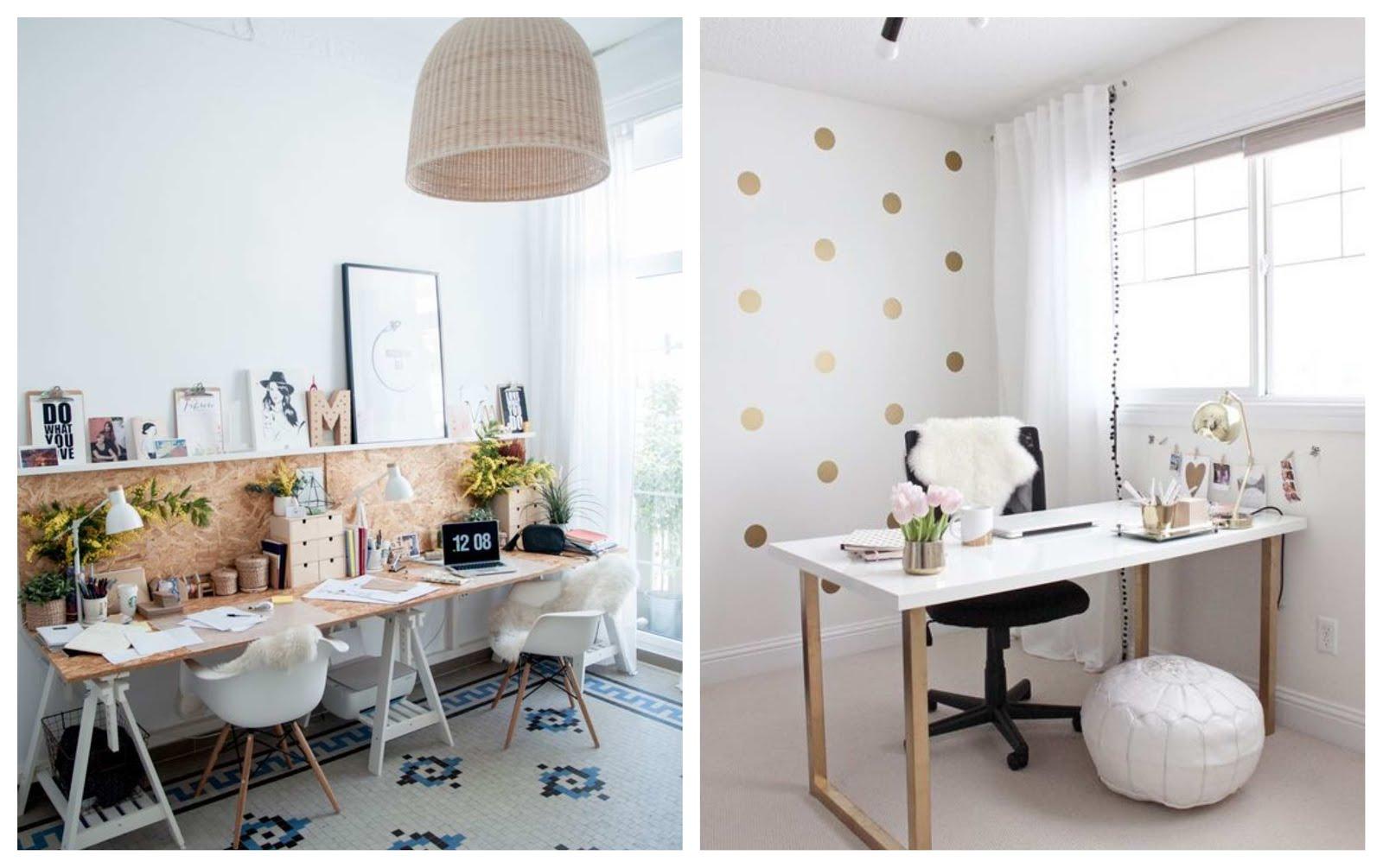 Cómo decorar una oficina perfecta en casa: ¡Las mejores ideas!