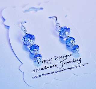 Sapphire - Autumn is here......and I'm back blogging about my latest jewellery and my pets!
