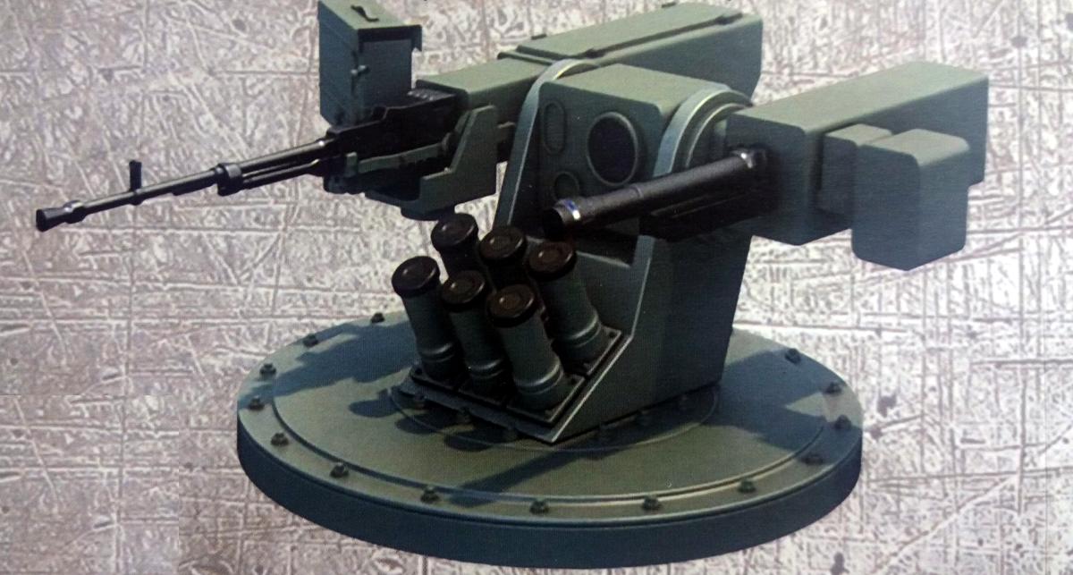 полегшений бойовий модуль (ПБМ) від «Кузні на Рибальському»