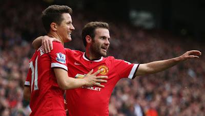 Manchester United 10 Besar Rangking Klub UEFA 2014/15