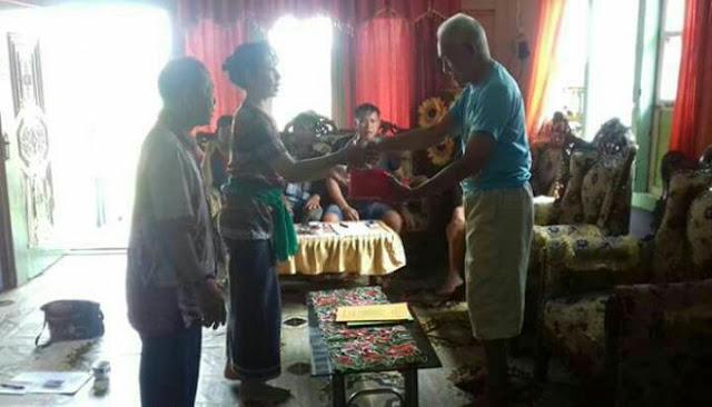 Heboh! Pernikahan Gaib Antara Panglima Burung (Dayak) Dengan Sri Baruno Jagat Prameswari