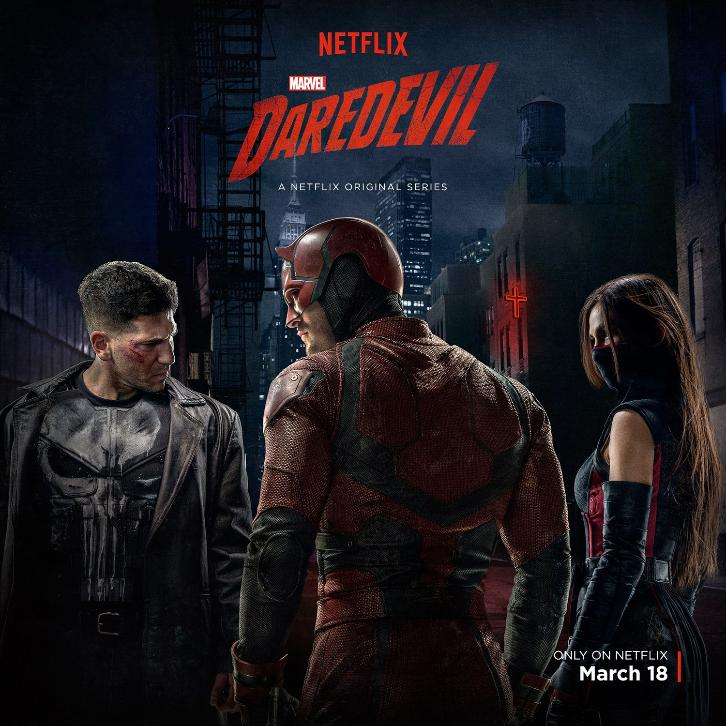 Daredevil - Renewed for a 3rd Season