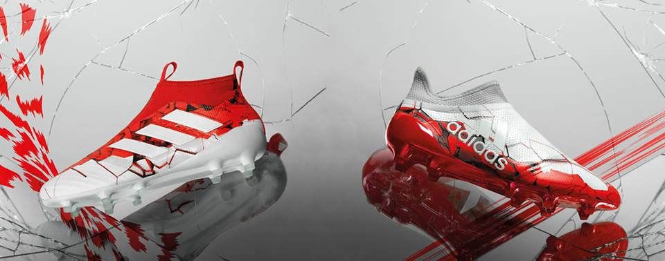 5068e907927 PES 6 Adidas White Red Boots 2017-18