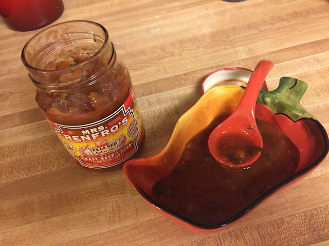 Mrs. Renfro's Texas Red Amber Ale Craft Beer Salsa from Degustabox
