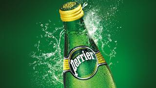 Prueba el agua mineral Perrier