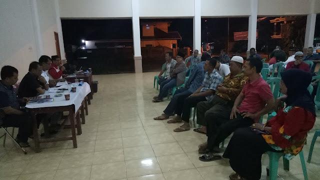 Bangun Gerbang, Warga Kelurahan Tanjung Rancing Gelar Rapat Kedua