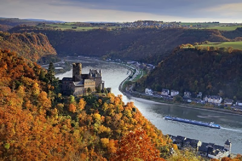 The West Rhine Railway, Germany - Top 10 Train Routes in Europe